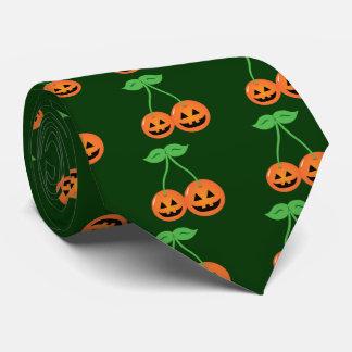 Doom Jack o' Lantern Cherries Tie