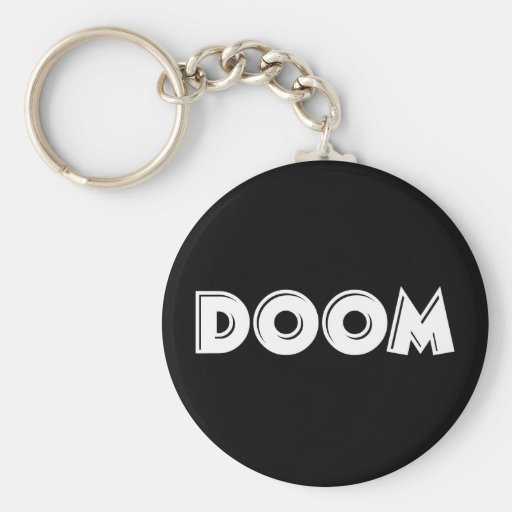 Doom Key Chain