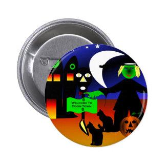 Doom Town Pin