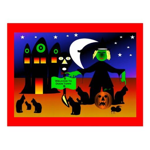 Doom Town Post Card