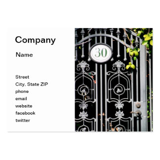 Door 30 pack of chubby business cards