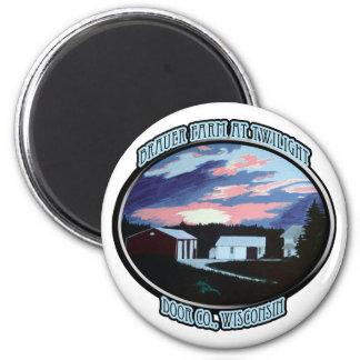 Door Co. , WI Farmhouse Magnet