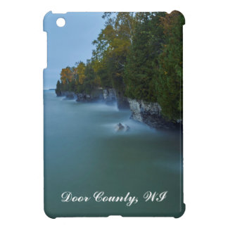 Door County Cave Point Cliffs iPad Mini Covers