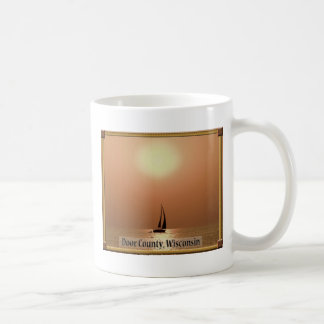 Door County Sunset Coffee Mug