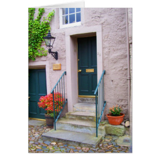 Door in St. Andrews Card