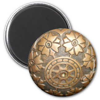 Door knob 6 cm round magnet