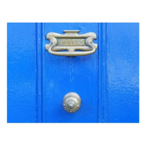 Door knob - Birr, Ireland Post Cards