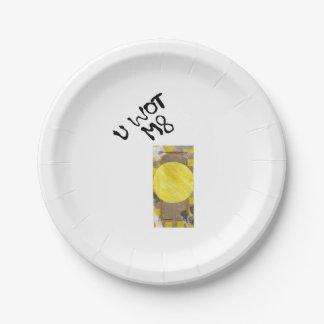 Door Knob Paper Plate 7 Inch Paper Plate