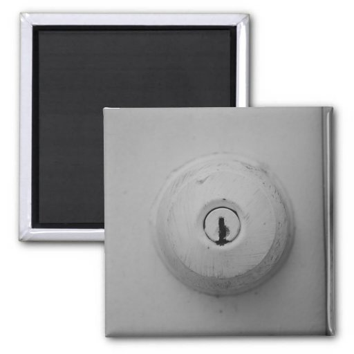Door Knob Photograph Magnet