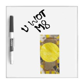 Door Knob Whiteboard Dry Erase Boards