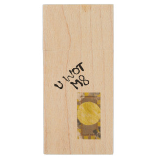 Door Knob Wooden Pendrive Wood USB 2.0 Flash Drive