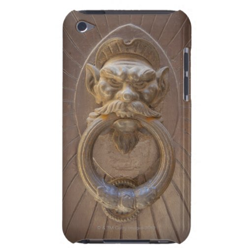 Door knocker in Siena, Italy. iPod Touch Covers
