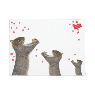 door mat squirrel
