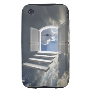 Door opened on a mystic eye iPhone 3 tough cases