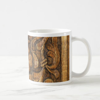 door patern coffee mug