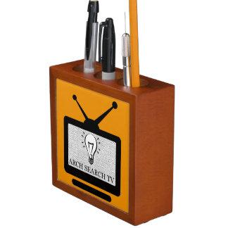 Door pencil Arch Search TV Desk Organiser