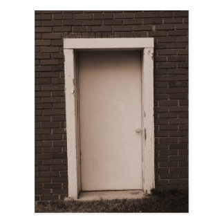 Door Photo Post Card