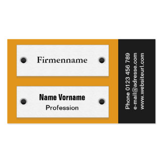 Door sign pack of standard business cards