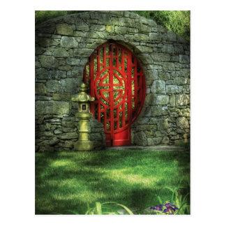 Door - The Moon gate Postcard