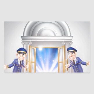 Door to Fame and Doormen Stickers