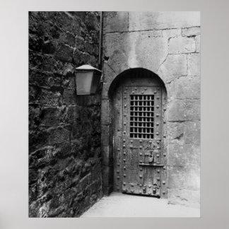 Door to Newgate Prison Poster