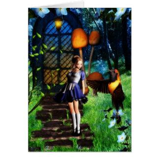 Door to Wonderland card