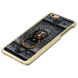 Doorknocker Lion - Black / Gold