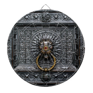 Doorknocker Lion - Black / Gold Dartboard