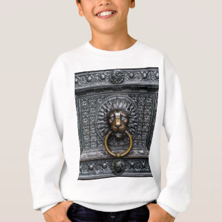 Doorknocker Lion - Black / Gold Sweatshirt