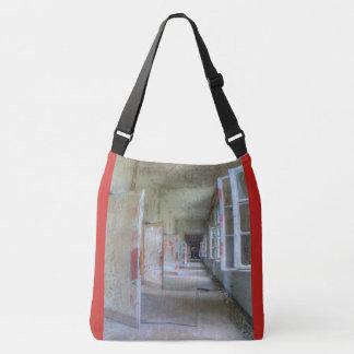 Doors and Corridors 02.1.2, Lost Places, Beelitz Crossbody Bag