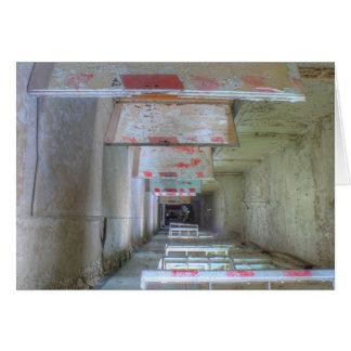 Doors and Corridors 02.1, Lost Places 02., Beelitz Card