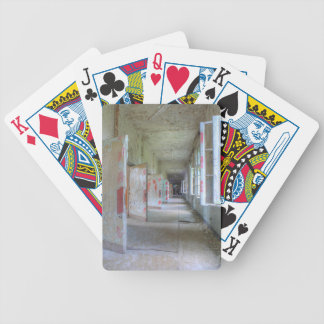 Doors and Corridors 02.1, Lost Places, Beelitz Bicycle Playing Cards