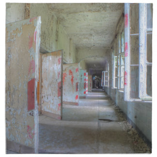 Doors and Corridors 02.1, Lost Places, Beelitz Napkin