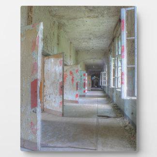 Doors and Corridors 02.1, Lost Places, Beelitz Plaque