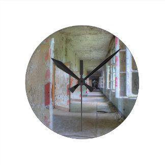 Doors and Corridors 02.1, Lost Places, Beelitz Round Clock