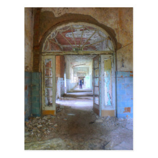 Doors and Corridors 03.0, Lost Places, Beelitz Postcard