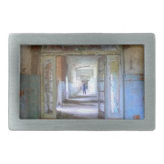 Doors and Corridors 03.0, Lost Places, Beelitz Rectangular Belt Buckle
