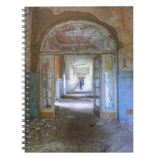 Doors and Corridors 03.0, Lost Places, Beelitz Spiral Notebook