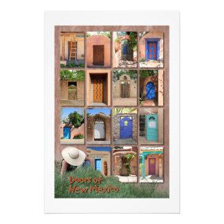 Doors of New Mexico version 2 Art Photo
