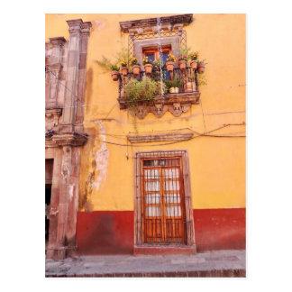 Doors of San Miguel De Allende, Guanajuato, Mexico Postcard