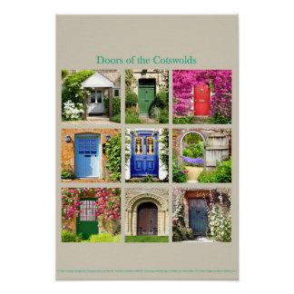 Doors of the Cotswolds Poster