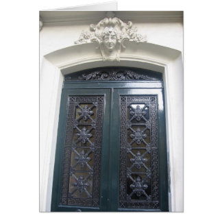 Doorway, Paris, 6th Card