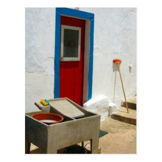 Doorway to Portugal Postcard
