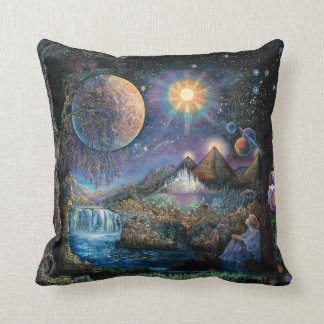 """Doorway to the Stars"" Throw Pillow"