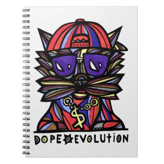 Dope Evolution BuddaKats 80 Page Notebook