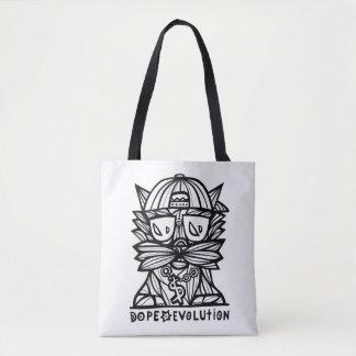 Dope Evolution BuddaKats All- Over Tote Bag