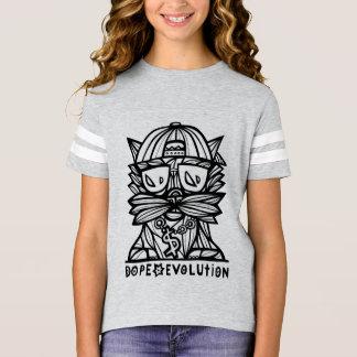 """Dope Evolution"" Girls' Sport Tshirt"