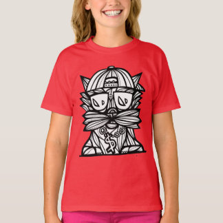 """Dope Evolution"" Girls' TAGLESS® T-Shirt"