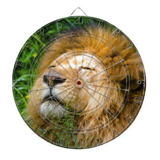 Dope Lion in the grass Dartboard