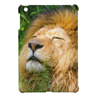 Dope Lion in the grass iPad Mini Cases